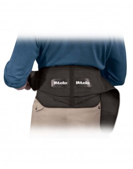 Lumbar Back Brace with Removable Pad