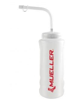 Water Bottle w/Straw Cap, Red Logo