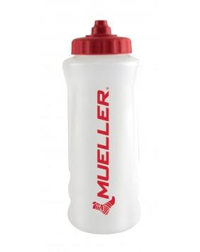 WATER BOTTLE w/ Red Sureshot Squeeze Cap, RED LOGO
