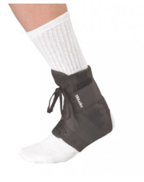 SOFT ANKLE BRACE WITH STRAPS