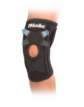 SELF-ADJUSTING KNEE STABILIZER